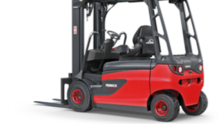 The Linde Material Handling electric forklift truck E20 - E35 R