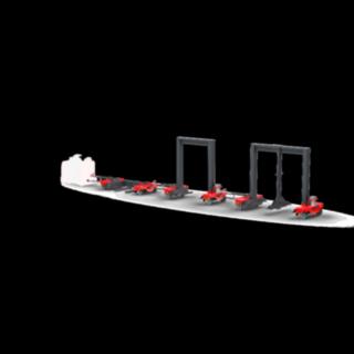 Trains logistiques flexibles de la gamme de modèles LT de Fenwick-Linde