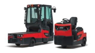 Tracteurs à conducteur porté assis P60 - P80 et transporteur W08 de Fenwick-Linde