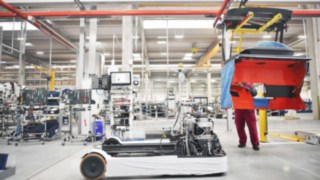 Site de production Linde Material Handling