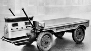 L'Hydrocar, l'un des premiers véhicules de transport de Linde Material Handling