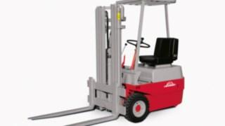 Le premier chariot élévateur électrique de Linde Material Handling