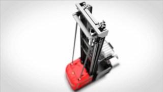 Vidéo sur la hauteur de levage et les barrières latérales inclinables disponibles en option.