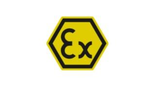 Panneau de signalisation pour zones ATEX