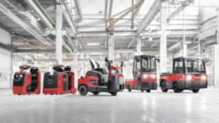 Tracteurs et transporteurs de Fenwick-Linde