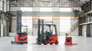Trois gammes de chariots industriels Fenwick