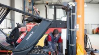 Construction d'un chariot Fenwick en toute responsabilité