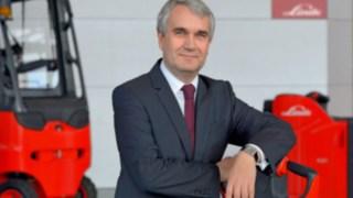 Christophe Lautray, Président de la Fédération européenne des équipements de manutention et de stockage (FEM) et membre du conseil d'administration (CSO) de Linde Material Handling