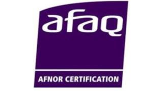 Logo certification AFAQ/AFNOR