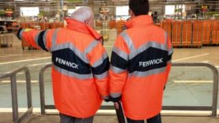 Solution de prévention des risques Fenwick Safety Scan
